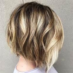 bob haircut with chunky highlites 25 trendy short hair cuts for women 2017 popular short