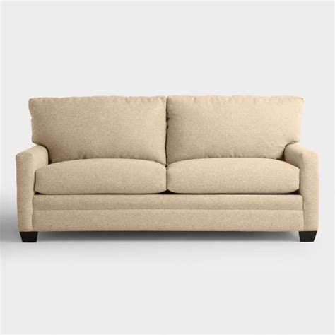 World Market Sleeper Sofa by Chunky Woven Holman Upholstered Sleeper Sofa World Market