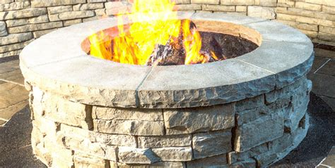 If You Build A Fire Pit They Will Come Unilock Fire Pit Firepit Kits