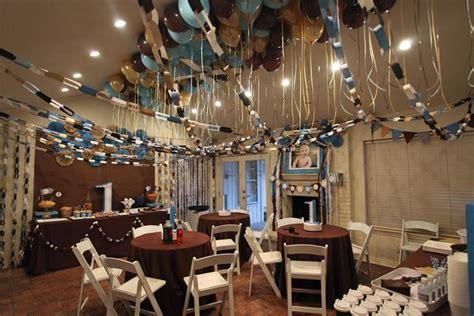 brown up decorations kara s ideas blue brown boys birthday planning