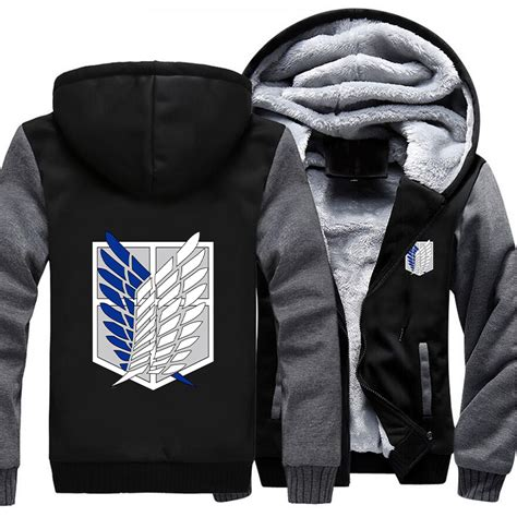 Jaket Attack On Titan 01 1 attack on titan hoodie jacket 8 styles