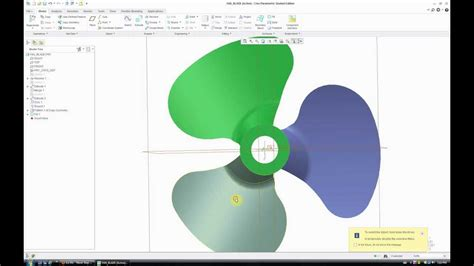 pro engineer pattern youtube fan blade how to creo parametric 2 0 pro engineer
