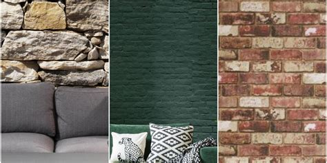 stylish brick effect wallpaper designs brick wallpaper ideas