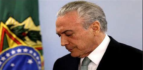 sobornos de cmo corrupci 243 n en brasil temer recibi 243 sobornos para favorecer a empresas c 225 rnicas seg 250 n polic 237 a