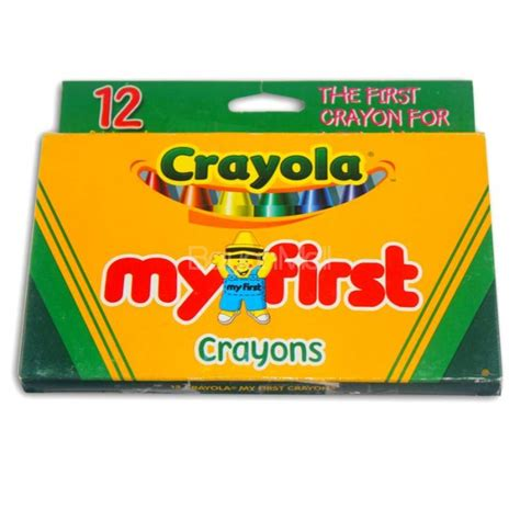 Crayon Apik 12 Colour crayola my crayons 12 colors non toxic