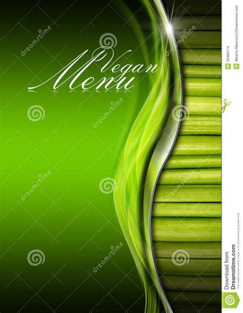 vegetables z wave vegan menu menu template stock illustration illustration