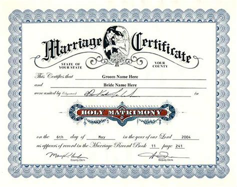 View Marriage Records Free Sle Marriage Certificate Marriage Certificate Sle 7 Marriage Certificate
