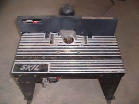 skil router table ras4510 used 18 x13
