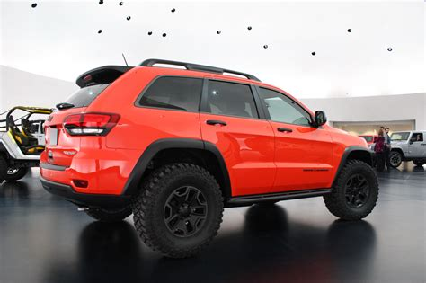 jeep grand cherokee trailhawk jeep grand cherokee trailhawk ii concept photo gallery