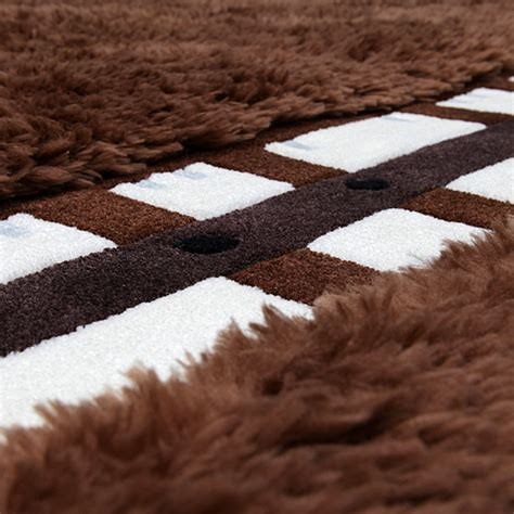 wars rugs wars chewbacca rug thinkgeek
