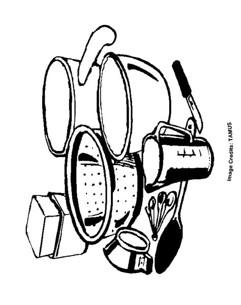 coloring pages for kitchen utensils cooking utensils free coloring pages for kids