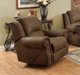 coaster sir rawlinson traditional rocker recliner swivel chair