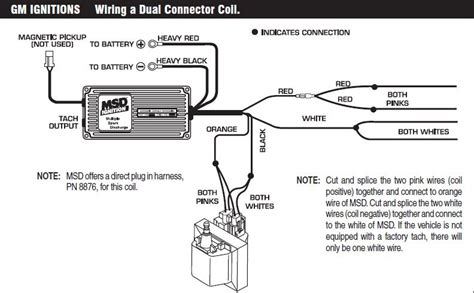 msd 6al wiring diagram hei distributor efcaviation