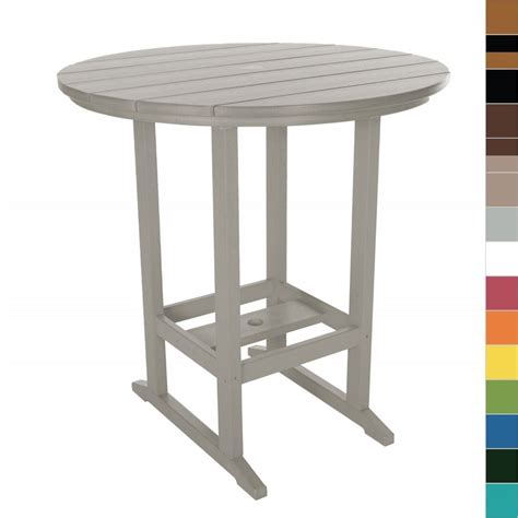 Bar Dining Tables Pawleys Island Bar Height Dining Table Poly Durawood Outdoor Furniture Ebay
