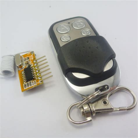 315mhz Rf Remote Module Pt2262 Pt2272 4 Channel Remote Button canton hobby electronics kits