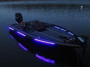 black lights for boats bass boat low output uv blacklight led light kit lifetime