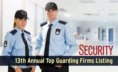 best security 2015 security s top guarding companies list 2015 2015 12 01