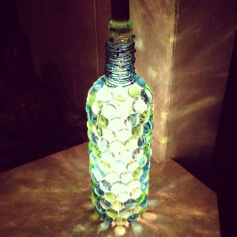 diy light up wine bottle diy wine bottle night light diy pinterest diy wine