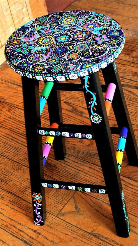 Stool Painting by Get Your With Diy Painting Crafts And Ideas