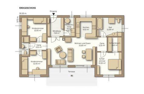 Grundriss Haus Bungalow by Fertigteilhaus Bungalow Grundriss Emphit