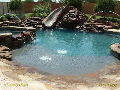 Backyard Pools With Entry Entry Custom Swimming Pools Would One Of
