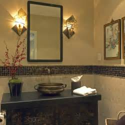 Oriental Bathroom Ideas by Bridge Design Studio