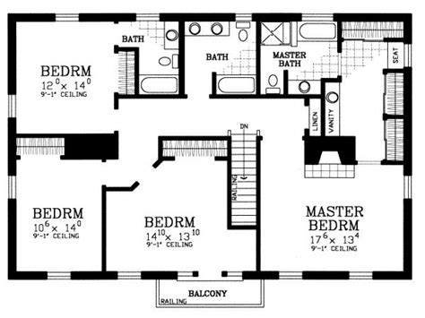 Floor Plans For A 4 Bedroom House | 4 bedroom house plans 4 bedroom house floor plans 4 bedroom home floor plans mexzhouse com