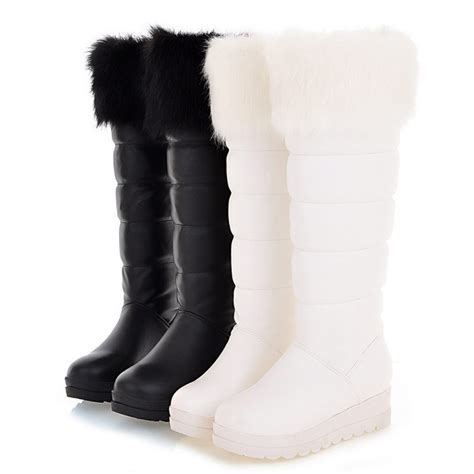 stylish snow boots for 2015 winter waterproof snow boots fahion knee high boots