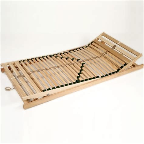 Mattress For Wooden Slatted Bed Home Products Bed Slat Bases Wood Metal Free Adjustable Sprung Tension
