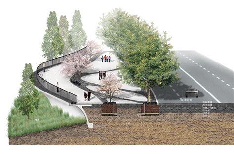Landscape Concept Definition Qingliu River Landscape Concept Chuzhou China Tract Siad