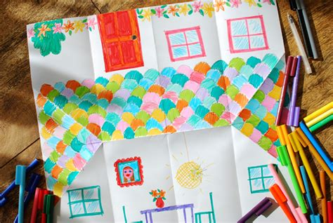 How To Make A Paper Doll House - make an adorable origami doll house