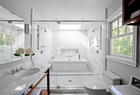 bathroom with bathtub and shower freestanding bathtub shower 171 bathroom design