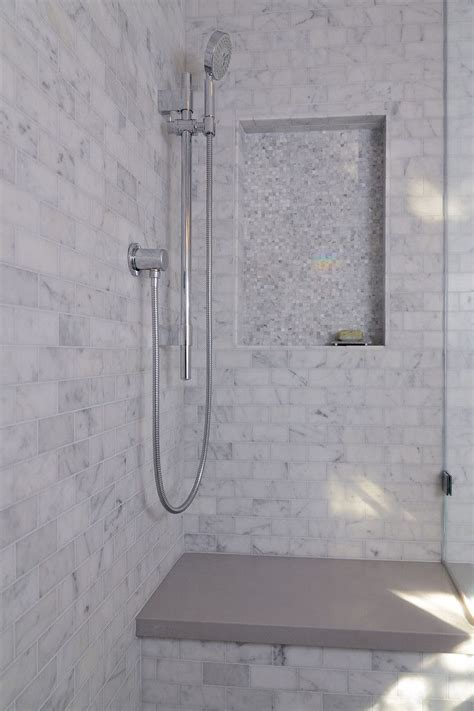 limestone tile bathroom 34 best images about carrera marble subway on pinterest
