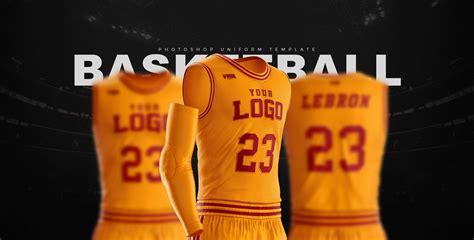 design basketball jersey photoshop slam dunk basketball uniform template sports templates