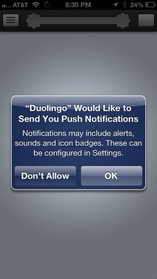 iphone   permissions popup  push notification  ios refer   local  remote