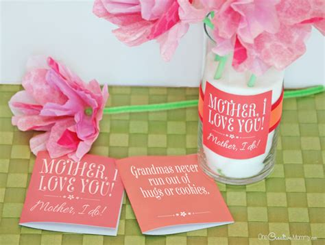 7 Cutest Mothers Day Presents by S Day Gift Idea And Printables