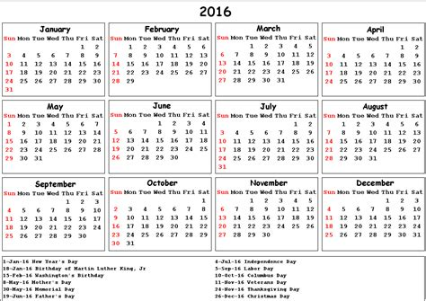 new year 2016 factory holidays 2016 calendar with holidays