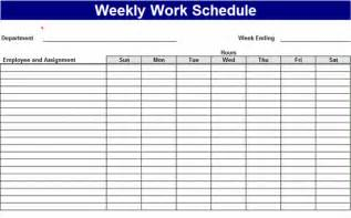 daily work schedule template excel weekly work schedule excel template format analysis template