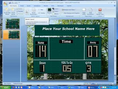 Pics For Gt Scoreboard Template For Powerpoint Scoreboard Template For Powerpoint