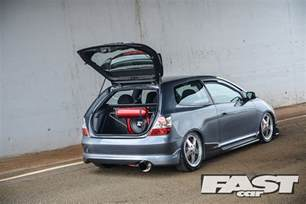 modified honda civic ep3 type r fast car