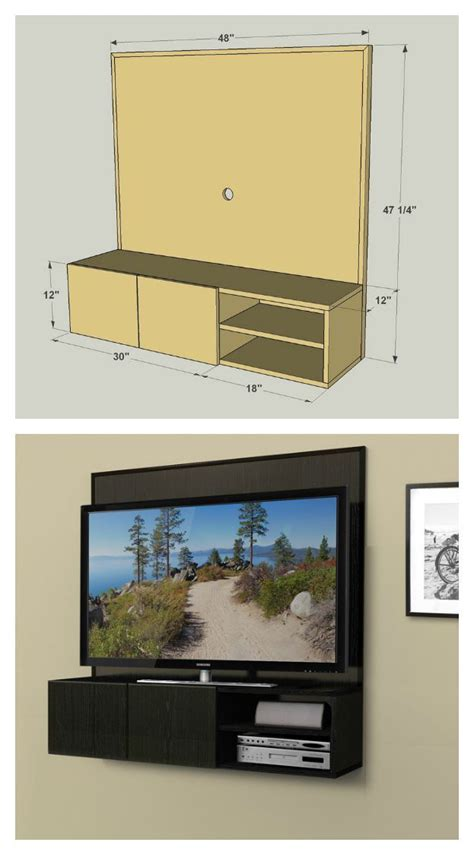wall hanging tv cabinet this wall mounted media cabinet takes a new approach to