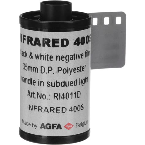 Roll 135 Agfa Retro 80s rollei infrared 400 black and white negative 81040122 b h