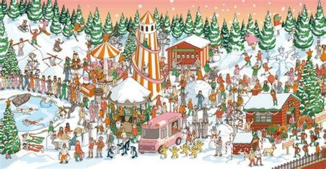 find  hidden santa claus   image puzzle answer