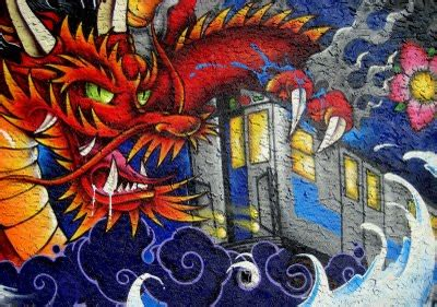 schivandorospi art dragon wallpaper graffiti