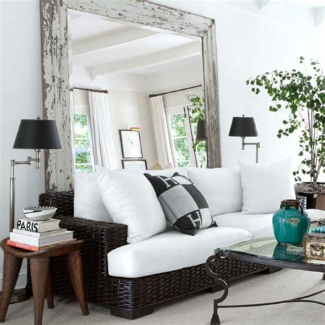 how to make a small living room look bigger how to make a small room look bigger with mirrors