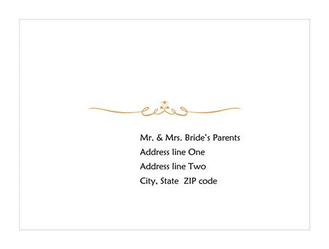 avery a2 card template free wedding response card envelope scroll