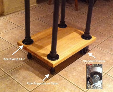 how to build a kitchen island cart diy movable butcher block kitchen island food cart