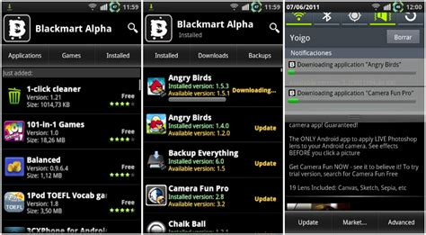 android market app black market app store for android blackmarket