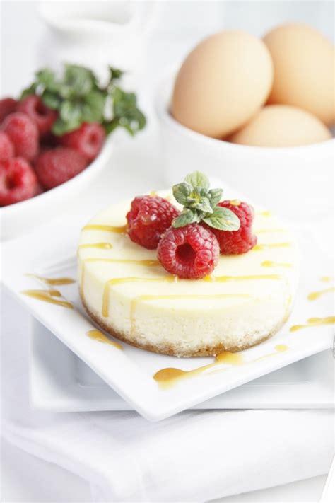 mini raspberry caramel cheesecakes bell alimento
