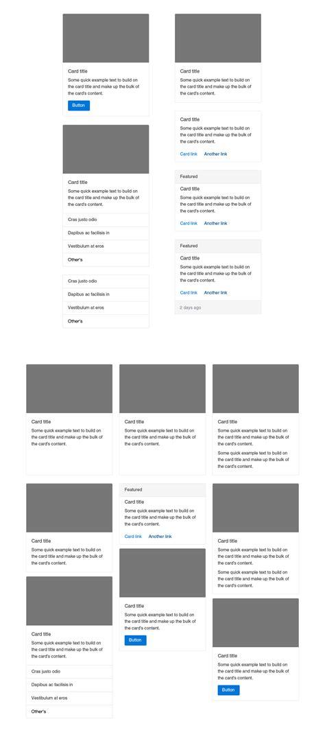 bootstrap v4 layout bootstrap 4 gui design shock